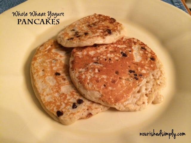 Whole Wheat Yogurt Pancakes