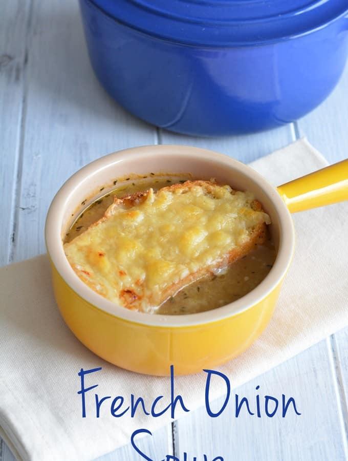 French Onion Soup {Recipe}