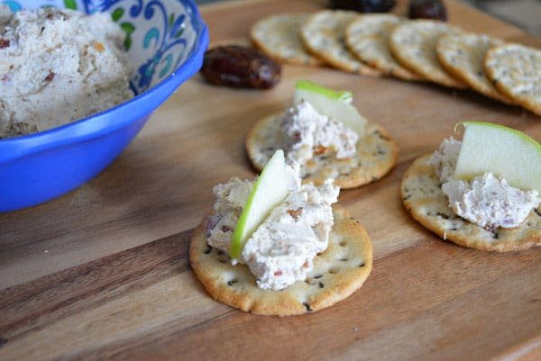 Feta Spread with Bacon and Dates