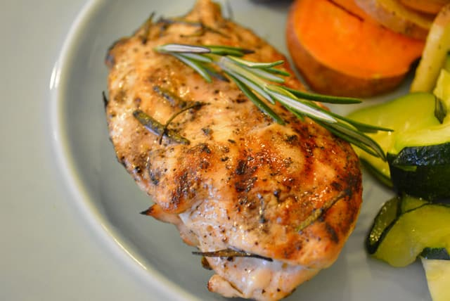 Grilled Rosemary Chicken {Recipe} | Nourished Simply