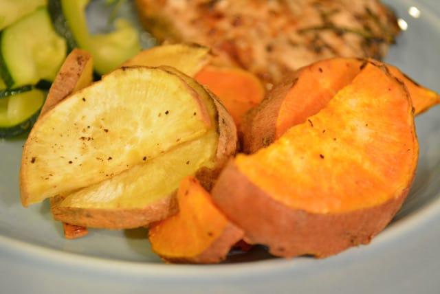 Roated Sweet Potatoes