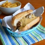 "Mushroom ""Steak"" Sandwich with Whiz {Recipe Redux}"