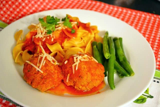 turkey-meatball-dinner
