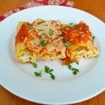 Lasagna Roll Ups {Recipe}