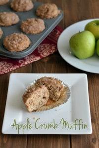Apple Crumb Muffin