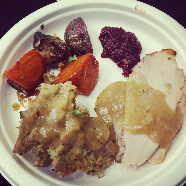 Sampling of Whole Foods Market's Thanksgiving menu offerings. #wfmnwl #foodietips