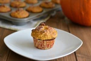 Pumpkin Pecan Muffin