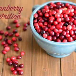Cranberry Nutrition Nourished Simply