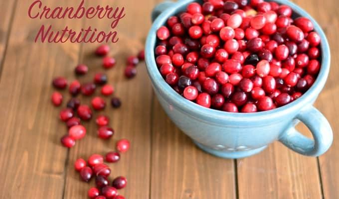 Cranberry Nutrition
