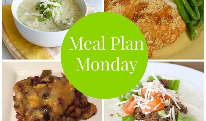Meal Plan Monday #1