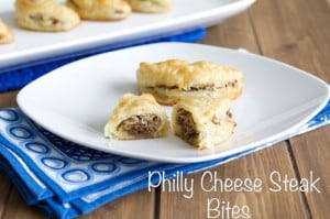 Cheese Steak Bites