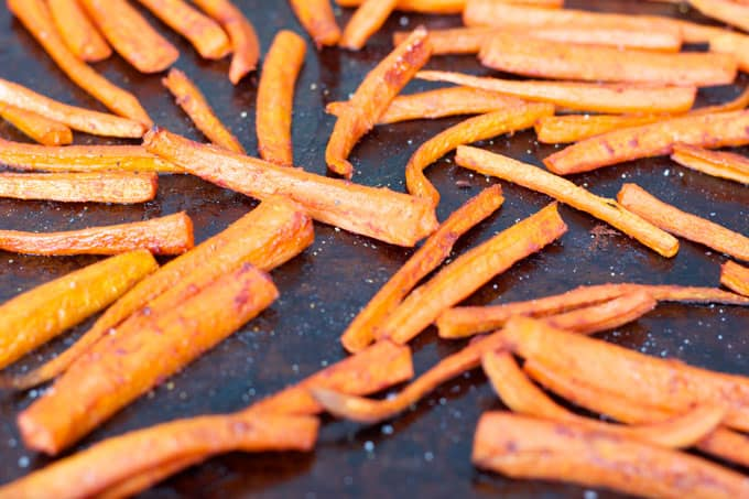 Sweet and Spicy Carrots