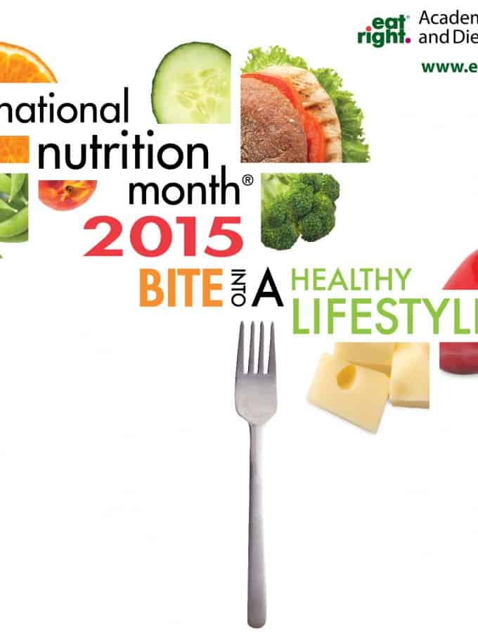 National Nutrition Month – Monday Meal Plan 7