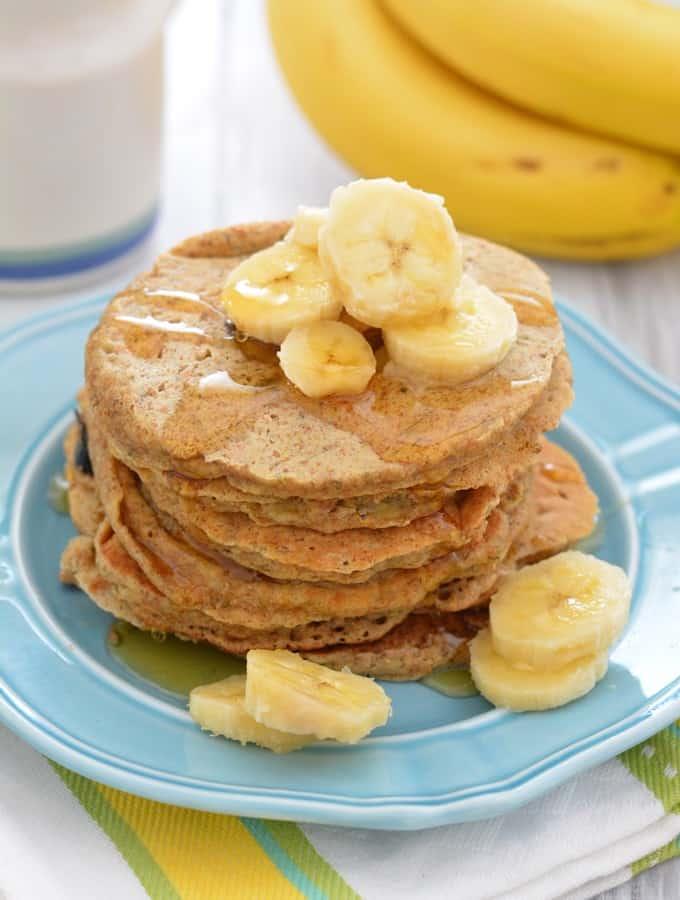 Whole Wheat Banana Pancakes – Recipe Redux