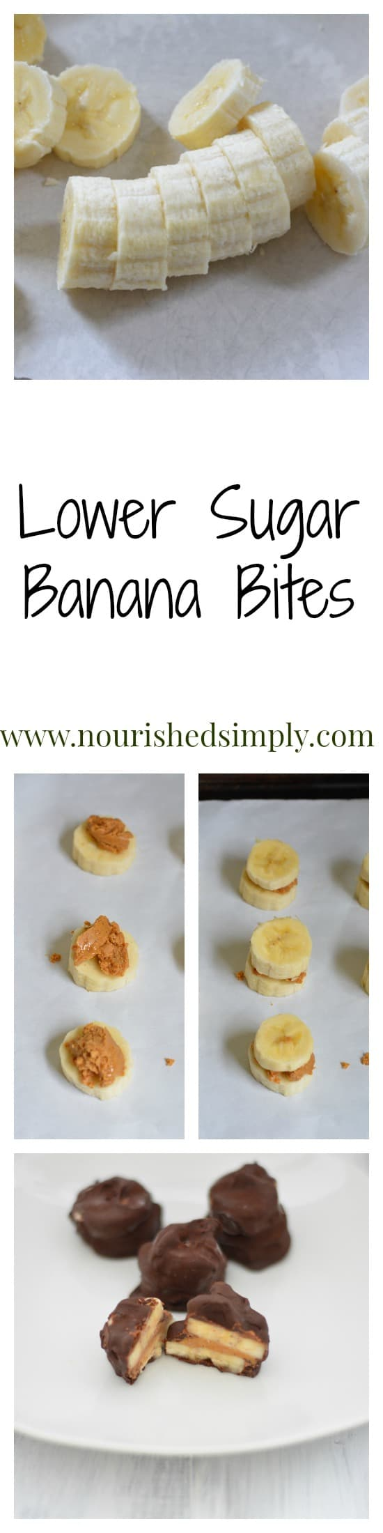 Banana Bites Collage