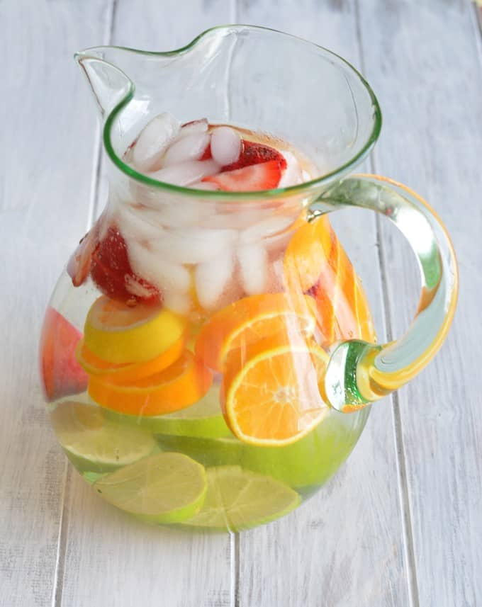 Strawberry Citrus Infused Water