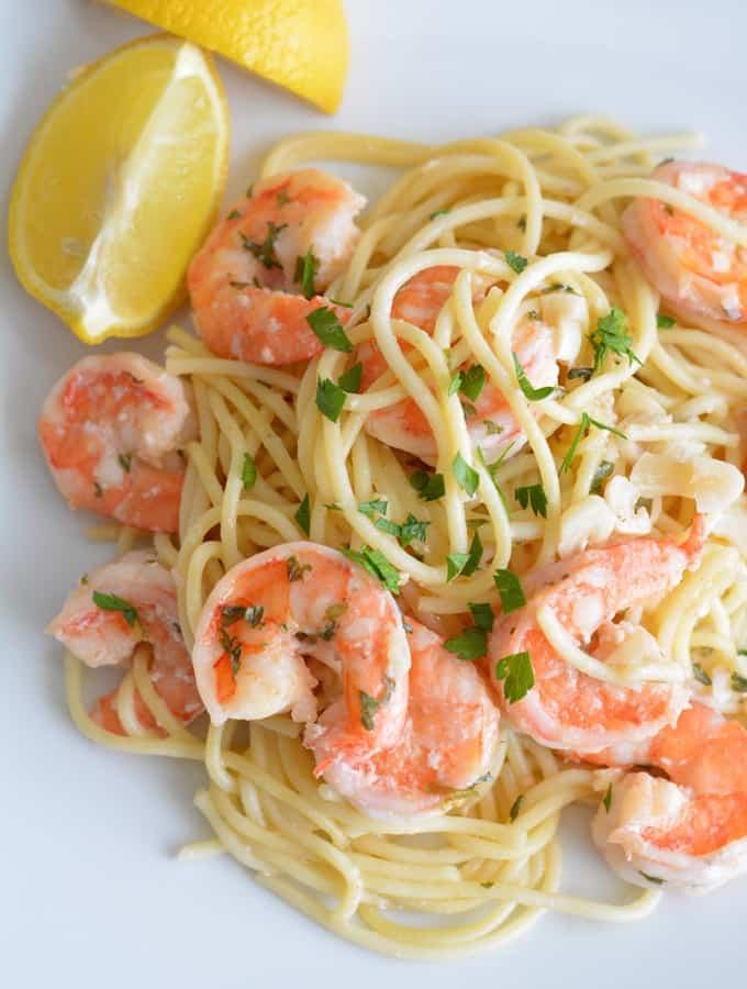 Shrimp Scampi – Recipe Redux