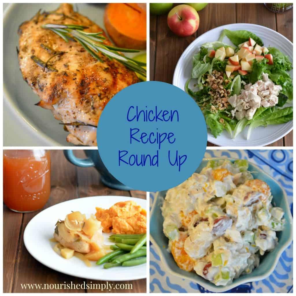 Chicken Recipe Round Up