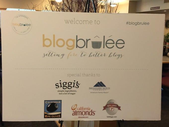 Blog Brulee Recap