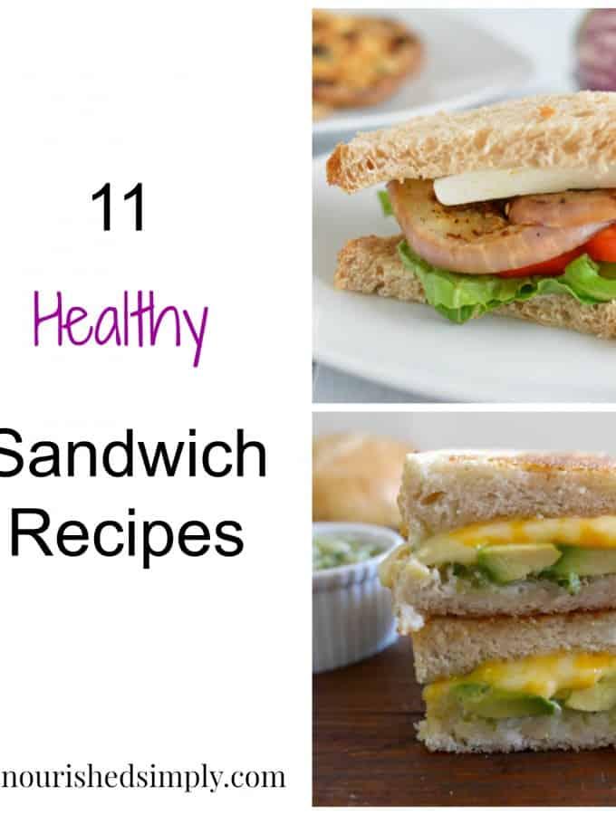 11 Healthy Sandwich Recipes