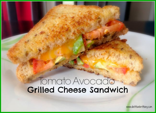 Tomato Avocado & Vegemite Grilled Cheese Sandwich | The Pescetarian ...