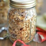 Maple Cranberry Walnut Granola (Maple Book Review)