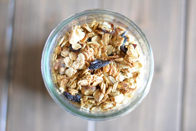 Maple Cranberry Walnut Granola a perfect holiday gift.