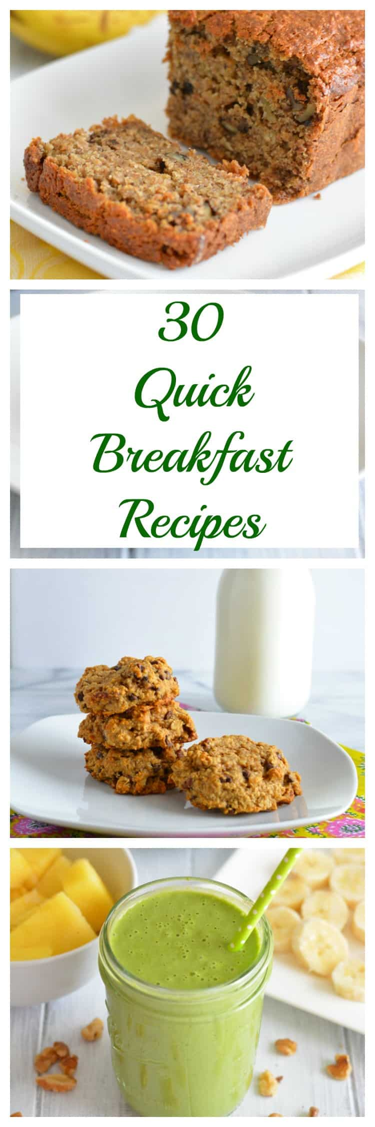 30 Breakfast Recipes