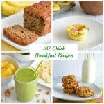30 Quick Breakfast Recipes