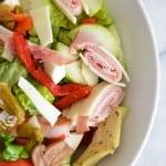Lighter Antipasto Salad