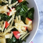 Kale and Apple Salad with Dijon Vinaigrette
