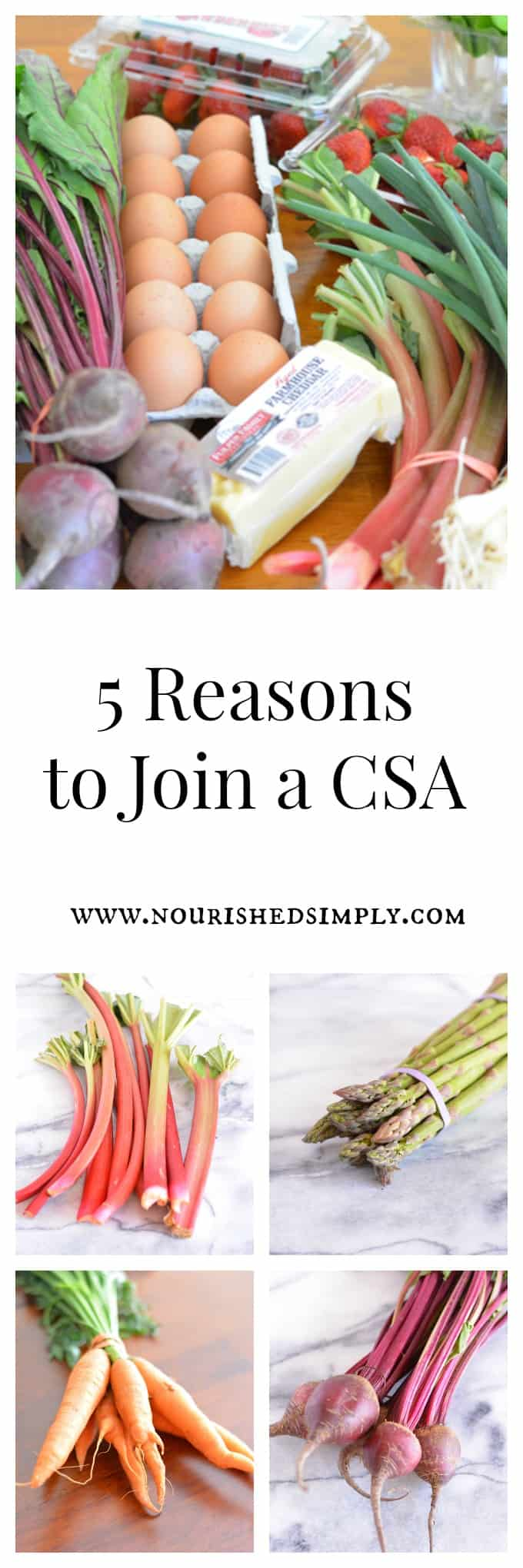 5 Reasons to Join a Summer CSA