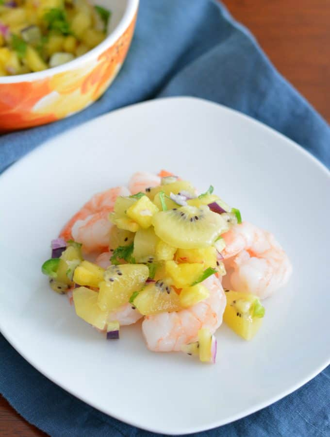 Kiwi Pineapple Salsa