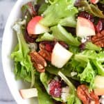 Harvest Salad with Apple Dijon Dressing