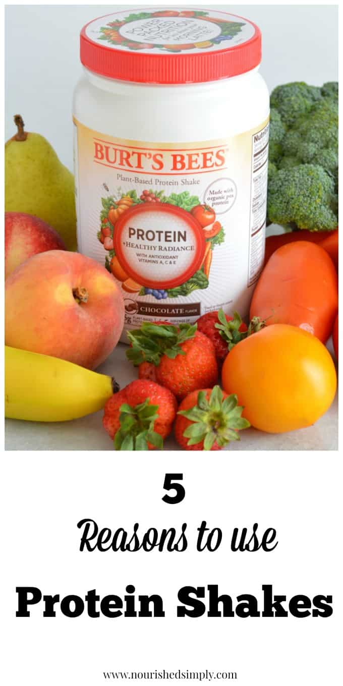 Do you wonder if you need a protein shake? Here are 5 reasons to use the them!