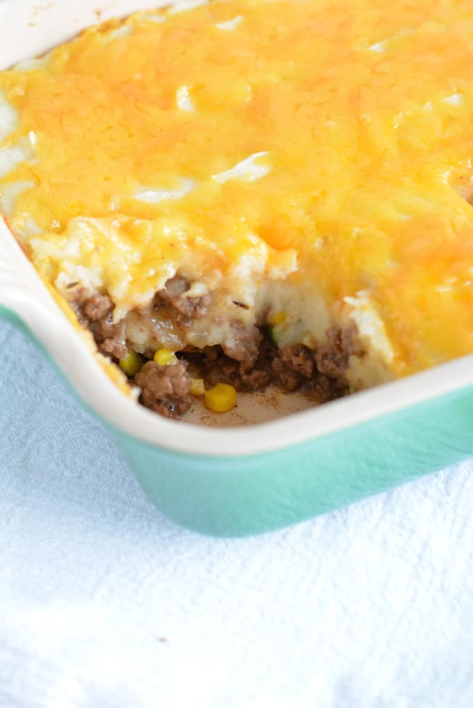 Shepherds Pie is a comfort dish perfect for a cold winter evening or a St. Patty's Day celebration