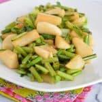 Ginger Soy Hakurei Turnips
