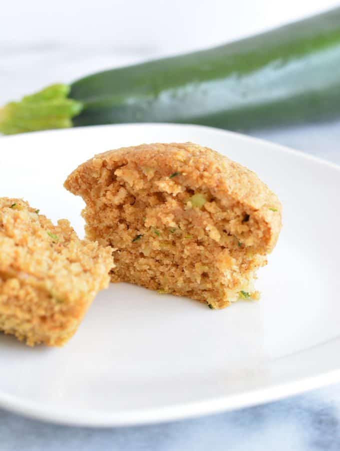 Oat Bran Zucchini Muffins are a perfect addition to breakfast or a quick snack.